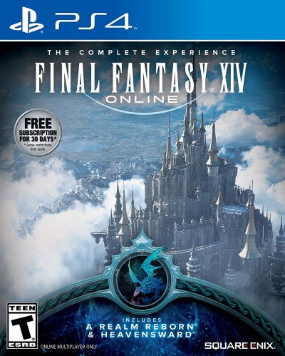 PlayStation 4 Final Fantasy XIV Online