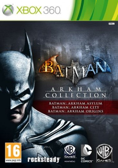 Xbox 360 Batman: Arkham Collection