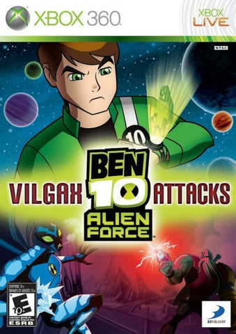 Xbox 360 Ben 10 Alien Force: Vilgax Attacks