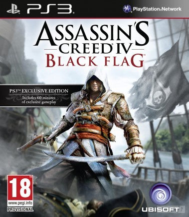 PlayStation 3 Assassin's Creed IV: Black Flag