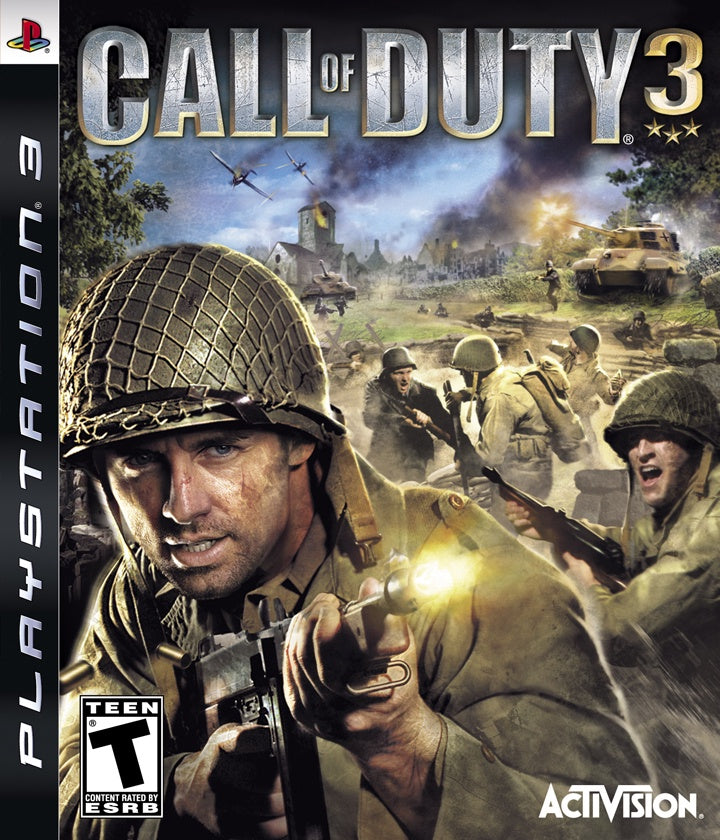 PlayStation 3 Call of Duty 3