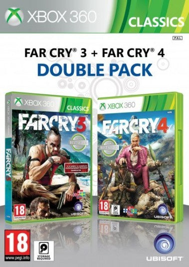 Xbox 360 Far Cry 3 Far Cry 4 Double Pack