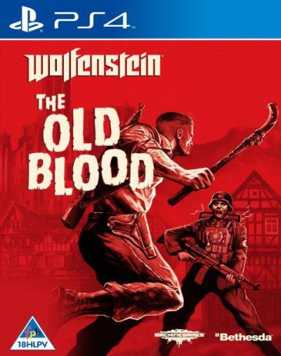 PlayStation 4 Wolfenstein: The Old Blood