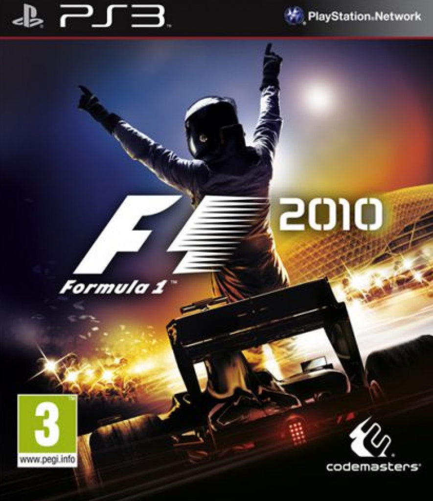 PlayStation 3 F1 2010