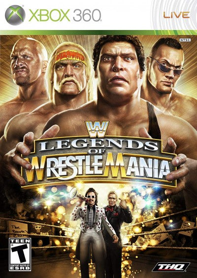 Xbox 360 WWE Legends of Wrestle Mania