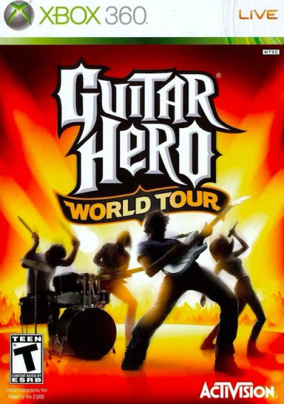 Xbox 360 Guitar Hero: World Tour