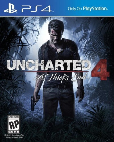 PlayStation 4 Uncharted A Thief's End
