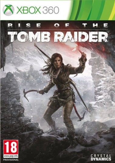 Xbox 360 Rise of the Tomb Raider