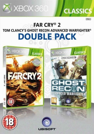 Xbox 360 Far Cry 2 & Tom Clancy Adwanced Warfighter