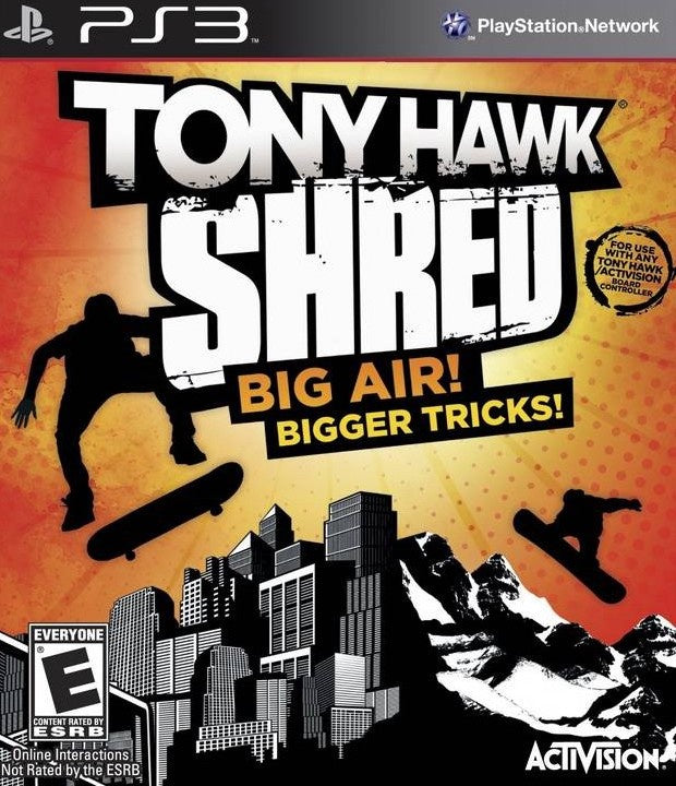 PlayStation 3 Tony Hawk Shred