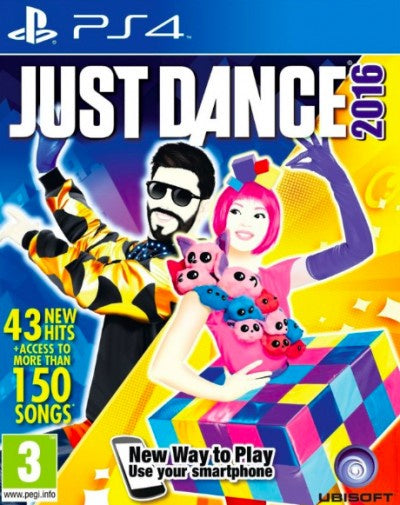 PlayStation 4 Just Dance 2016