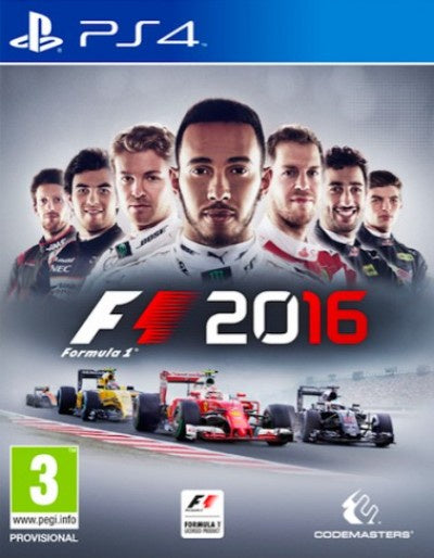 PlayStation 4 F1 2016