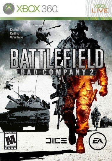 Xbox 360 Battlefield: Bad Company 2