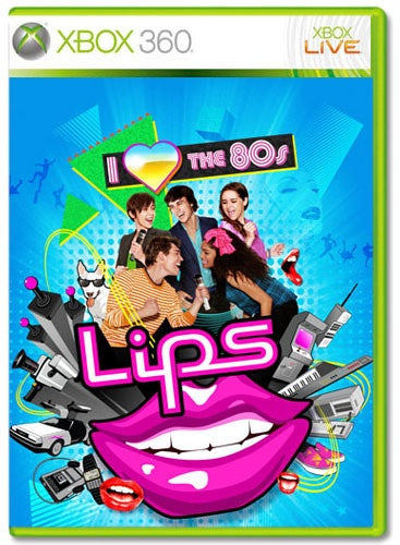 Xbox 360 Lips: i love the 80s