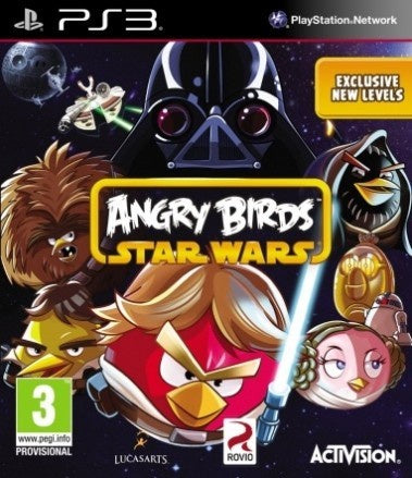 PlayStation 3 Angry Birds Star Wars