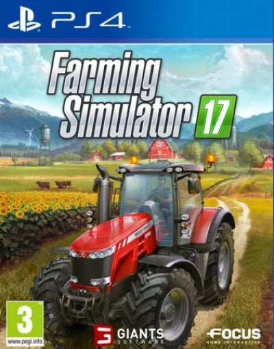 PlayStation 4 Farming Simulator 17