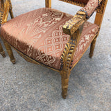 1930s Vintage Imperial Gilded French Sofa and Chairs** - Set of 3 - FREE SHIPPING!