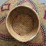 1970s Boho Chic Woven Hat Baskets - 2 Pieces - FREE SHIPPING!