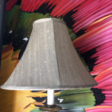 1970s Brass Footed Table Lamp with Shade** - FREE SHIPPING!