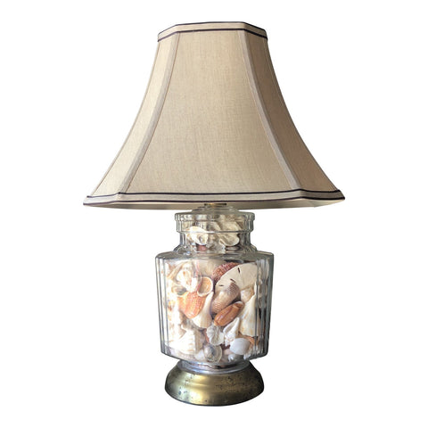 1970s Collected Seashells Nautical Table Lamp** - FREE SHIPPING!