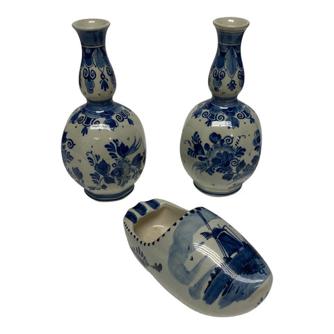 1970s Delft Holland Collection - Set of 3 - FREE SHIPPING!
