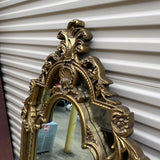 1970s Double Arch Shell Detail Mirror - FREE SHIPPING!
