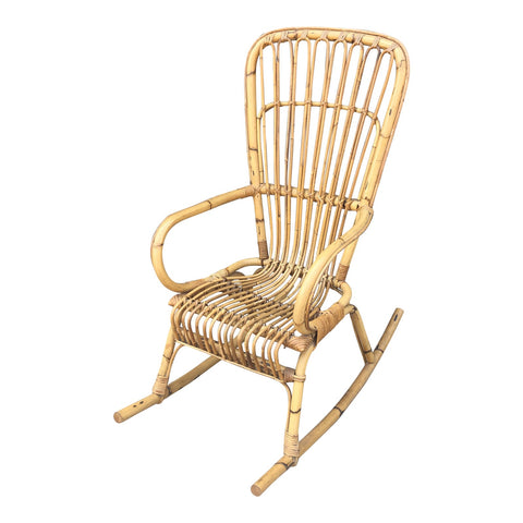 1970s Franco Albini Rocking Chair - FREE SHIPPING!