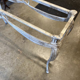 1970s Metal Console Table Base - FREE SHIPPING!