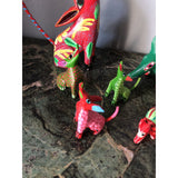 1970s Mexican Alebrijes - Set of 6 - FREE SHIPPING!