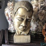 1970s Sculptural Vintage Bust - FREE SHIPPING!