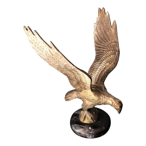 1970s Vintage Brass Eagle Figurine - FREE SHIPPING!