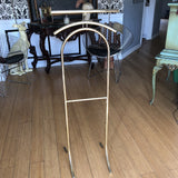 1970s Vintage Brass Valet Stand - FREE SHIPPING!