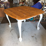 1970's Vintage Lion Feet Wooden Table