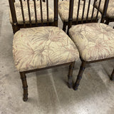 1970s Wooden Bamboo Chairs - Set of 6 - FREE SHIPPING!