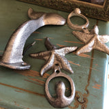 1980s Nautical Hooks - Set of 3 - FREE SHIPPING!