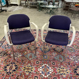 1990s Giancarlo Piretti Chairs - a Pair - FREE SHIPPING!