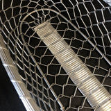 1990s Weaved Silver Basket - FREE SHIPPING!