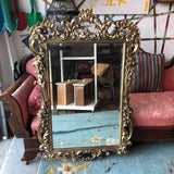 Antique Large Rococo Wall Mirror - FREE SHIPPING!
