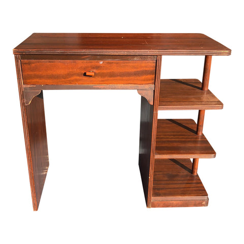 Art Deco Desk With Bakelite Detail - FREE SHIPPING!