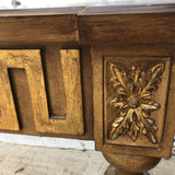 Art Nouveau Greek Key Console Table** - FREE SHIPPING!