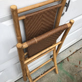 Bamboo Tray Stand and Matching Chairs - FREE SHIPPING!