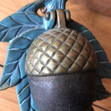 brass acorn doorknocker