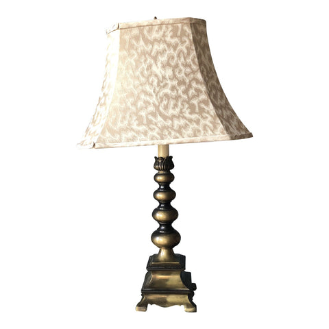 Brass Lotus Flower Pagoda Lamp - FREE SHIPPING!