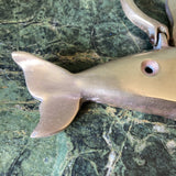 Brass Whale Door Knocker - FREE SHIPPING!