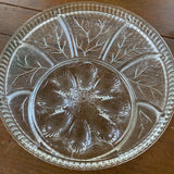 Crystal Appetizer Plate** - FREE SHIPPING!