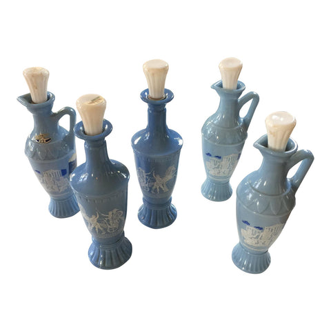 James B Beam Distillery Decanters - Greek Key Collection w Socrates details** - FREE SHIPPING!