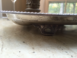 Footed Silver Plated Tray - FREE SHIPPING!