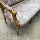 1940s French Country Style Gilded Long Settee - FREE SHIPPING!