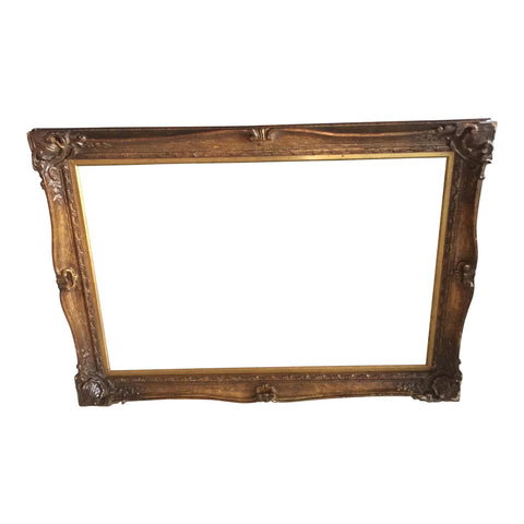 Gilded Wooden Large Frame - FREE SHIPPING!