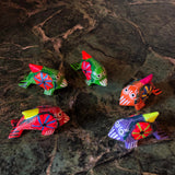 Hand Painted Fish Alebrijes - Set of 9 - FREE SHIPPING!